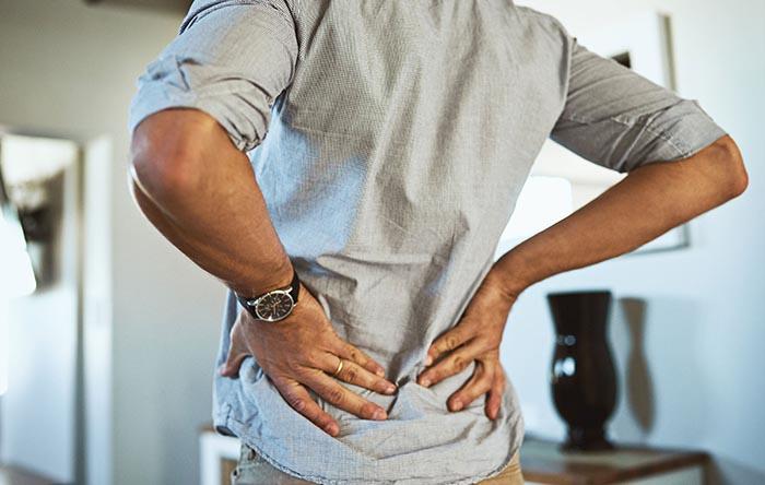 درد در قسمت پایینی کمر