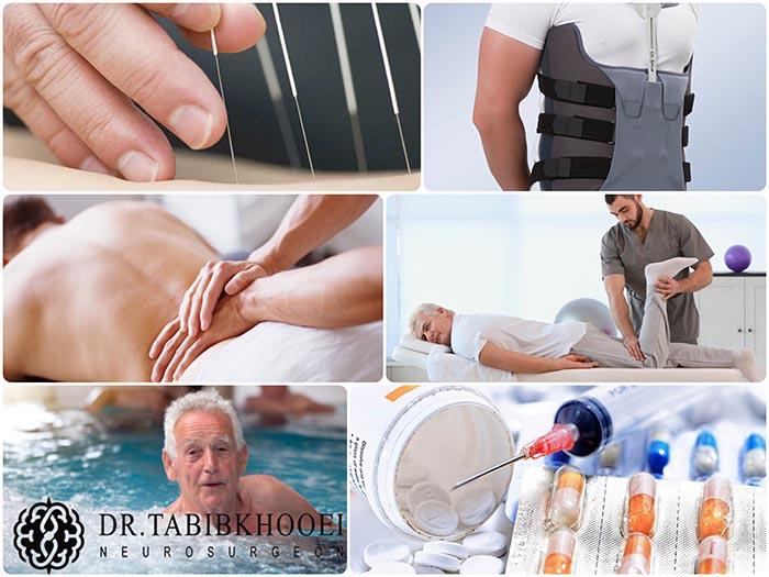 درمانهای غیرجراحی بیرونزدگی دیسک کمر