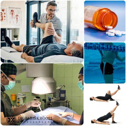 درمانهای غیر جراحی تنگی کانال کمری
