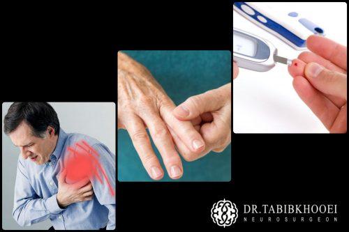 مهمترین بیماریهایی که ممکن است با دیسک گردن همراه باشند