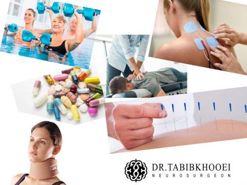 درمانهای غیرجراحی دیسک گردن