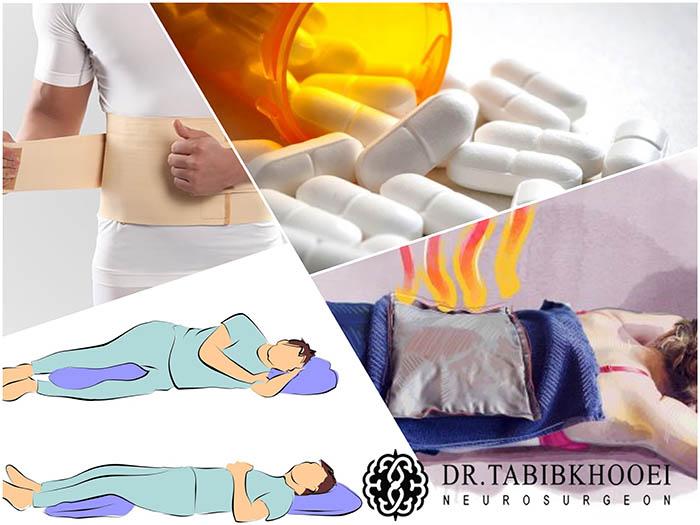 درمانهای اولیه و خانگی کمردرد