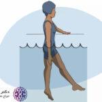 تمرینات آب درمانی برای دیسک کمر