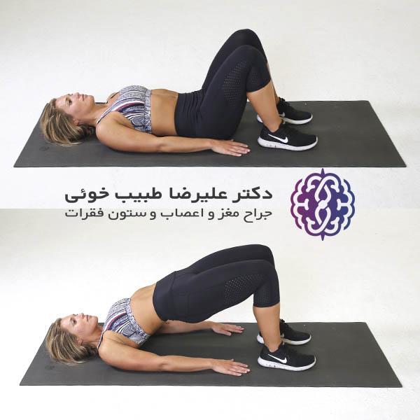 Pelvic tilt exercise